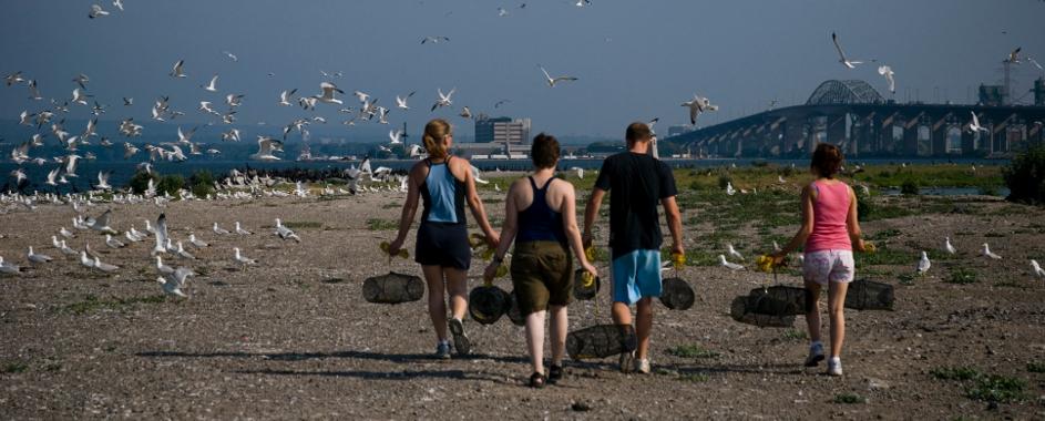 Field work: Lake Ontario